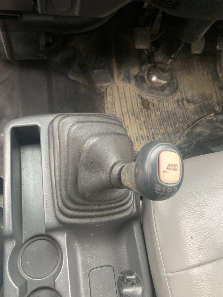4WDへの切り替え